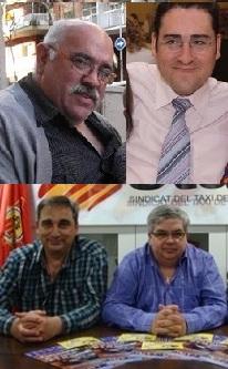 Intervenció dels membres del STAC a Taxi FM amb Xavi Collado