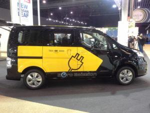 Nissan convida als taxistes de l'AMB a probar el seu cotxe 100% elèctric