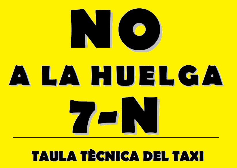 Comunicado de la TTT: No a la huelga 7N